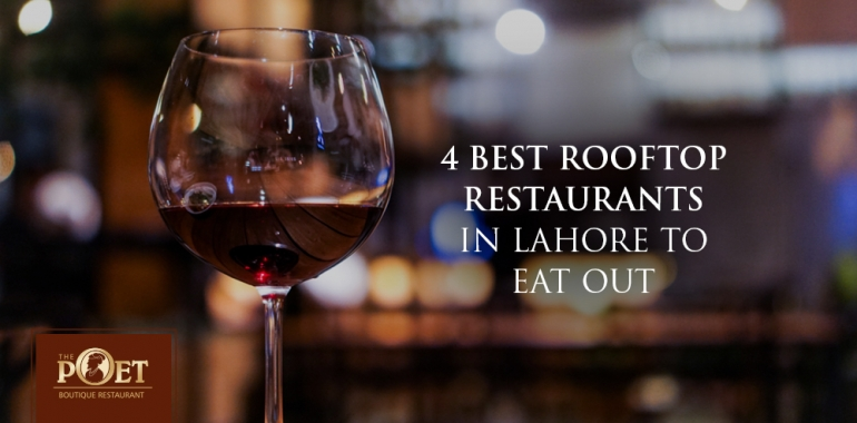 rooftop restaurants in Lahore