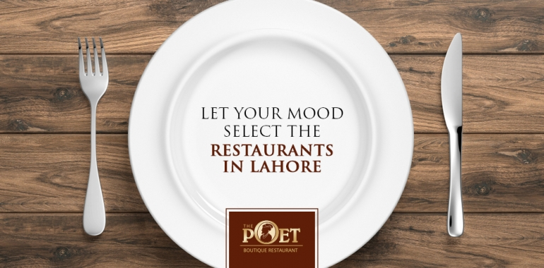 select the restaurant in Lahore