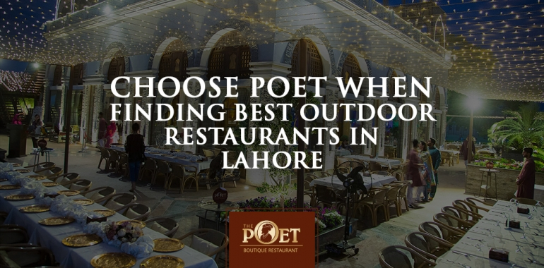 Best Outdoor Restaurants in Lahore