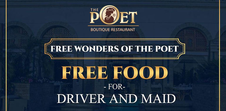 Free Food for Drivers and Maids