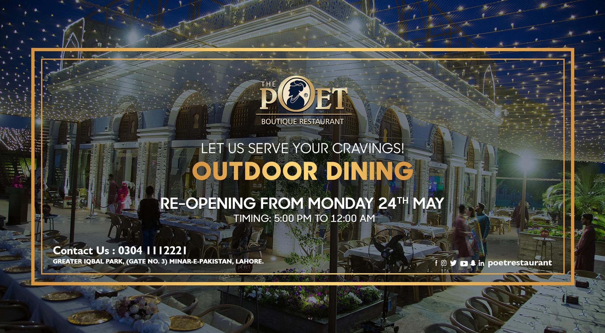 poet restaurant