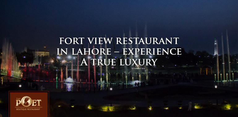 fort view restaurant in lahore