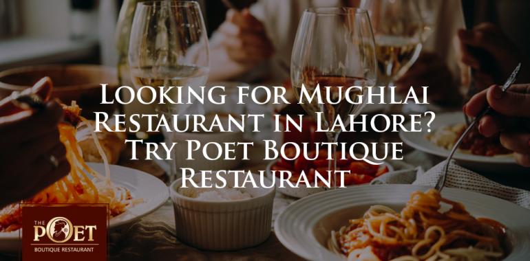 mughlai restaurants in lahore