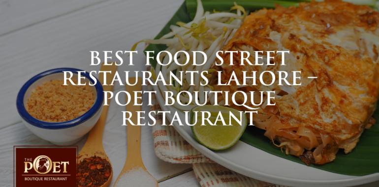best food street restaurants in lahore